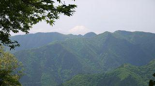 西原峠付近より富士山を望む